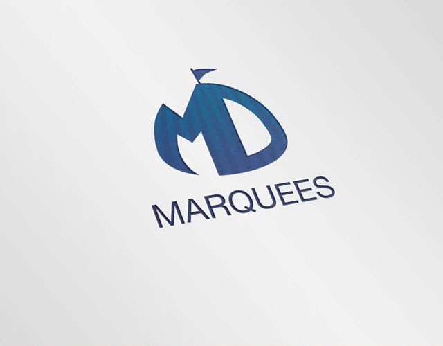 Logo design - MD Marquees